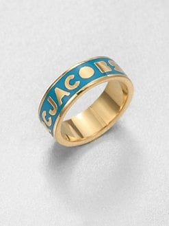 Marc by Marc Jacobs - Enamel Dreamy Logo Ring