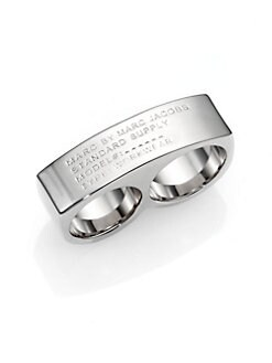 Marc by Marc Jacobs - Polished Double Ring