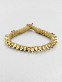 A.L.C. - Leonardo Spiked Bracelet/Gold