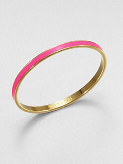 Kate Spade New York - Hot To Trot Enamel Bangle Bracelet