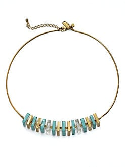 Kate Spade New York - Square Beaded Necklace