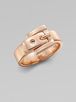 Michael Kors - Belt Buckle Ring/Rose Goldtone