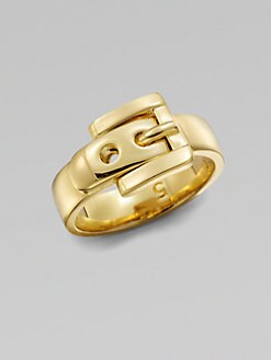 Michael Kors - Belt Buckle Ring/Goldtone