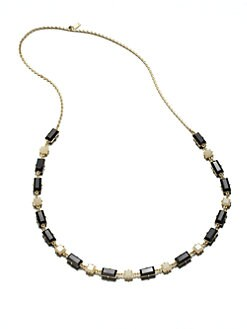 Kate Spade New York - Two-Tone Faceted Necklace
