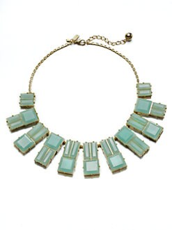 Kate Spade New York - Faceted Bib Necklace