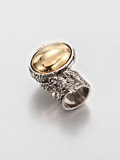 Saint Laurent - Two-Tone Arty Ring