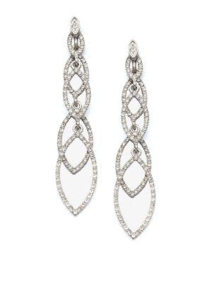 ABS BY ALLEN SCHWARTZ Navette Linear Drop Earrings