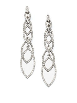 ABS by Allen Schwartz Jewelry - Navette Linear Drop Earrings