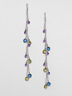ABS by Allen Schwartz Jewelry - Faceted Long Chain Drop Earrings