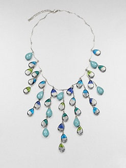 ABS by Allen Schwartz Jewelry - Beaded Bib Necklace