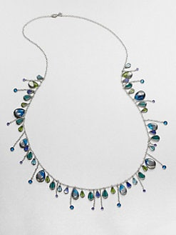 ABS by Allen Schwartz Jewelry - Beaded Fringe Necklace