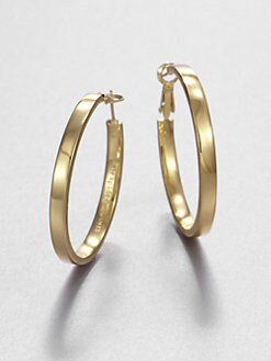 Kate Spade New York - Square-Edged Hoop Earrings/1.5