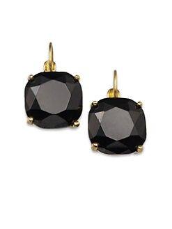 Kate Spade New York - Faceted Square Drop Earrings