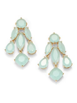 Kate Spade New York - Faceted Statement Chandelier Earrings