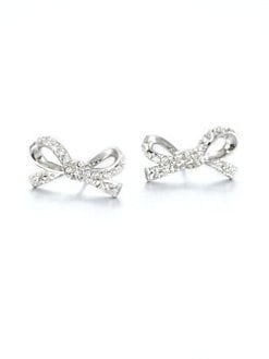 Kate Spade New York - Pav&eacute; Bow Studs