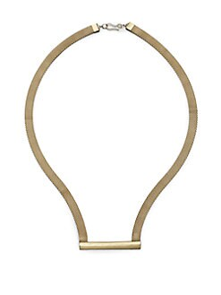 Etten Eller - Bar & Mesh Necklace