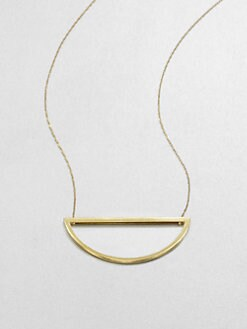 Etten Eller - Half Moon Pendant Necklace