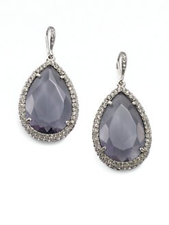 ABS by Allen Schwartz Jewelry - Faceted Teardrop Earring