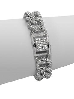 Adriana Orsini - Pave Link Bracelet