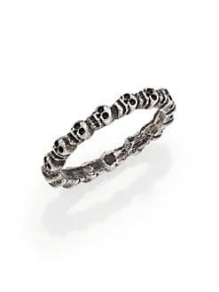 Bing Bang - Skull Eternity Ring