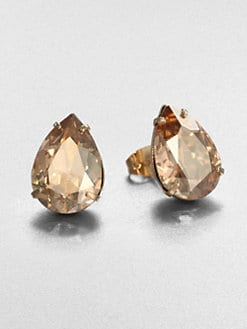 Bing Bang - Oversized Teardrop Stud Earrings