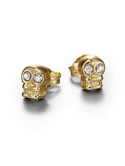 Bing Bang - Skull Stud Earrings