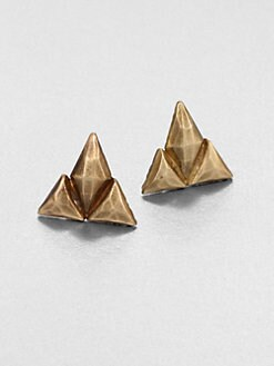 Bing Bang - Trident Stud Earrings