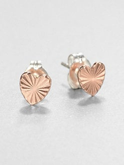 Bing Bang - Tiny Heart Stud Earrings