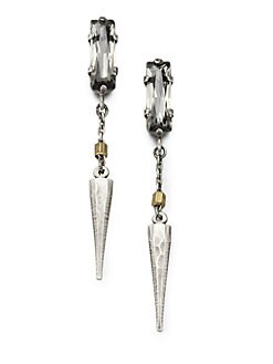 Bing Bang - Spike Drop Earrings
