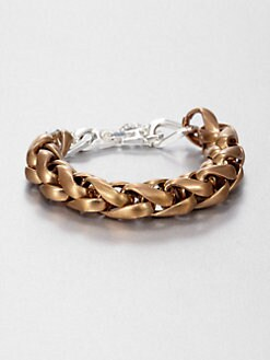 Bing Bang - Chunky Wheat Chain Bracelet