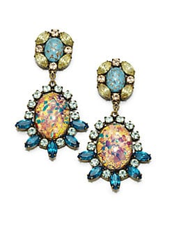 DANNIJO - Paz Mottled Drop Earrings
