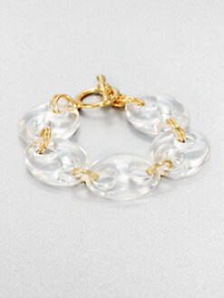 Kenneth Jay Lane - Resin Link Bracelet