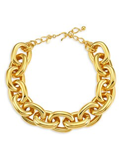 Kenneth Jay Lane - Polished Link Necklace
