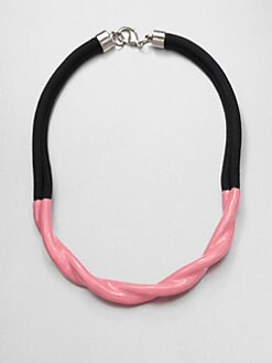 Orly Genger - Jenica Enamel & Twisted Rope Necklace