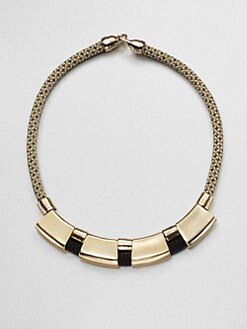 Orly Genger - Peary Tube Rope Necklace
