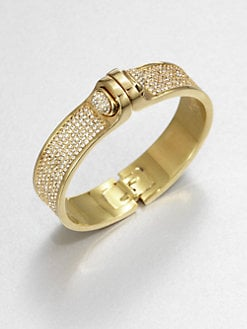 Kara by Kara Ross - Pave Hinged Bracelet