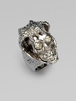 Alexander McQueen - Snake & Skull Ring