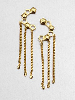 Eddie Borgo - Dangle Chain Earrings