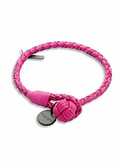 Bottega Veneta - Leather Knot Bracelet