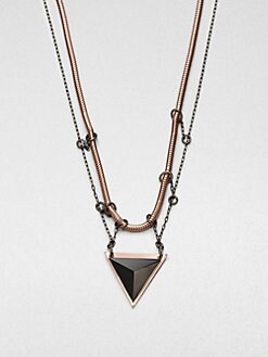 Bliss Lau - Rapture Black Onyx Pendent Necklace
