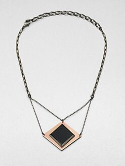 Bliss Lau - Burning Eye Black Onyx Pendent Necklace