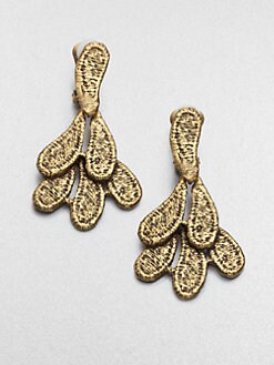 Oscar de la Renta - Cast Lace Earrings