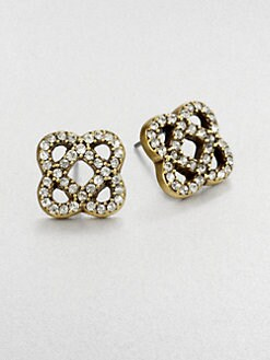 Oscar de la Renta - Sparkle Stud Earrings