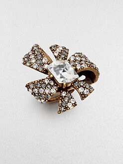 Oscar de la Renta - Bow Cocktail Ring