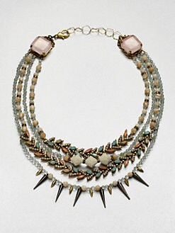 Erickson Beamon - Pretty in Punk Multi-Row Necklace