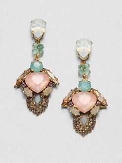 Erickson Beamon - Modern Moghul Drop Earrings