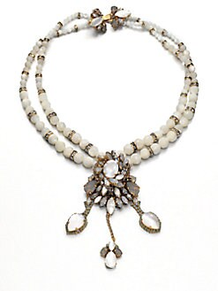 Erickson Beamon - Swarovski Crystal Starbust Necklace