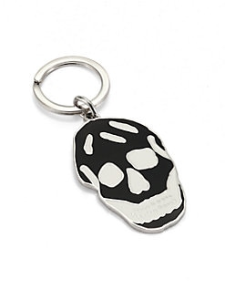 Alexander McQueen - Enamel Skull Key Ring