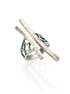 Bing Bang - Ornate Forged Sticks Ring