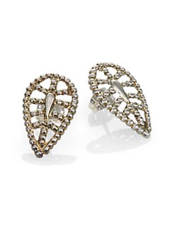 Bing Bang - Textured Petal Stud Earrings